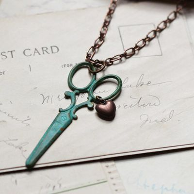 Scissor necklace