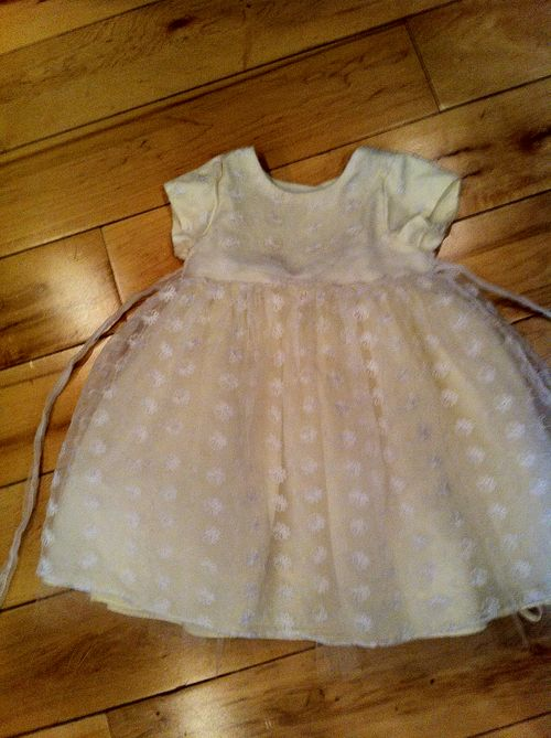 Easter Dress Before